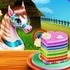 Pony Cooking Rainbow Cake